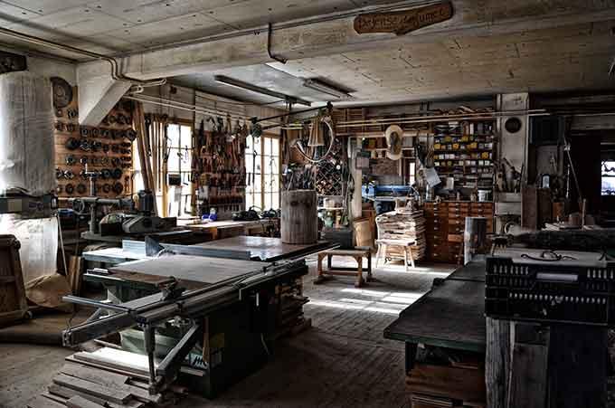 Kreativ-Werkstatt Home Office